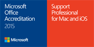 Microsoft Office for Mac and iOS Accredited Support Professional 2015